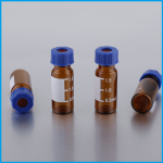 2 ml Amber Vials with septa/cap # MLVC-8425-2ANS - 100 pcs/case